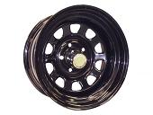 Off-road weels 15x8 5x139.7 d110 ET-19 черный